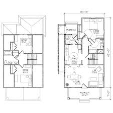 Floor Plan With Garage by Ansley Ii Accessible Bungalow Floor Plan Tightlines Designs