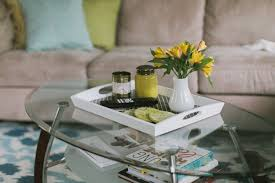 Coffee Table Tray Ideas Prepossessing Wooden Tray For Coffee Table With Home Decor Ideas