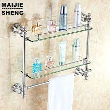 bathroom shelves glass u2013 selected jewels info