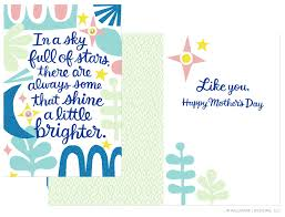 mother u0027s day cards for hallmark u2014 letters are lovely