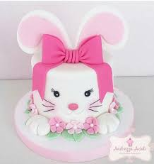 Cake Decorations For Easter Cakes by Best 25 Bunny Cakes Ideas On Pinterest Easter Bunny Cake