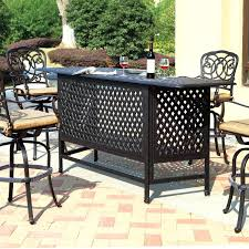 bar height patio set patio ideas patio bar sets clearance outdoor patio furniture