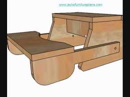 Woodworking Plans For Child S Table And Chairs by Diy Instructions For Kids Bench Step Stool Wmv Youtube