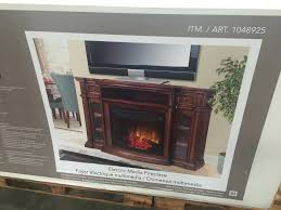 black entertainment center glass stand electric fireplace tv combo