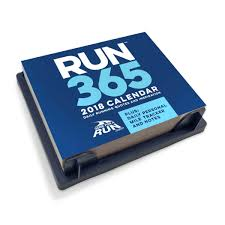 Desk Daily Calendar Runner U0027s 2018 Daily Desk Calendar Gone For A Run