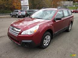 red subaru outback 2005 venetian red pearl 2013 subaru outback 2 5i exterior photo