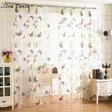 online get cheap sheer curtains kitchen aliexpress com alibaba