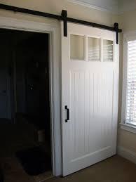Inside Barn Door by Modern Panel Barn Door