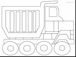 astounding dump truck coloring pages to print with garbage truck