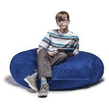 Beans For Bean Bag Chairs Amazon Com Jaxx Bean Bags Cocoon Junior Kids Bean Bag 4 Feet