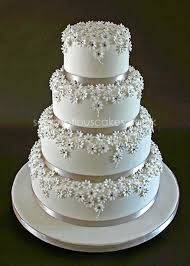 silver flowers stunning silver and white wedding cake cakes highly