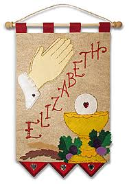 communion kits communion banner kit elizabeth praying cardinal a