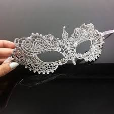 silver mask 50 shades mask silver with crystals insignia masks murano glass