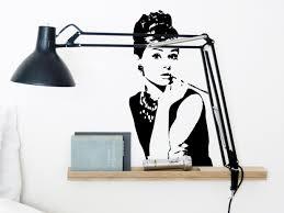 audrey hepburn home decor audrey hepburn vinyl wall sticker iconic wall sticker wall