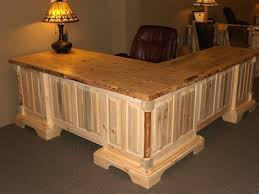 rustic l shaped desk brilliant solo joe executive desk with l shaped return inside rustic
