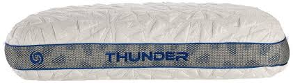bed gear pillow bedgear storm thunder 1 0 pillow for stomach sleepers