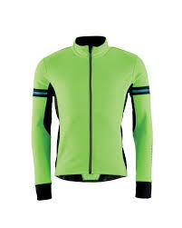 green cycling jacket men u0027s bright winter cycling jacket aldi uk