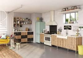 aspiration cuisine cuisine vintage meubles bois inspiration cuisine