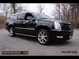 cadillac escalade esv 2007 for sale 2007 cadillac escalade esv black