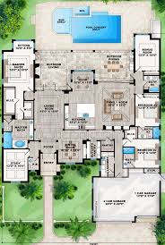 mediterranean style floor plans optional dream home game room would make a great formal dining