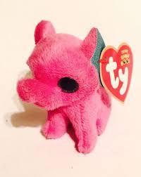 ty peanut pink elephant mcdonalds 3 teenie beanie boo 2014 boy