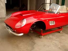 250 california replica 250gt sportspyder kit car part ii