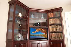 Corner Unit Bookcase Corner Bookcase Units Corner Living Room Cabinets Storage Ideas