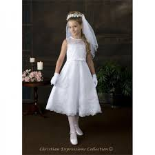 1st communion dresses a line holy communion dress with lace overlay and pearl