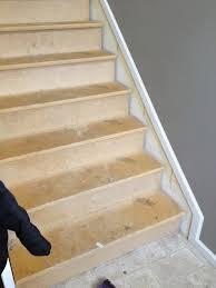 Laminate Flooring On Stairs Slippery Remodelaholic 60 Carpet To Hardwood Stair Remodel