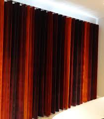 Velvet Curtains Wave Top Curtains In Harlequin Amazilia Velvet On A Metropole