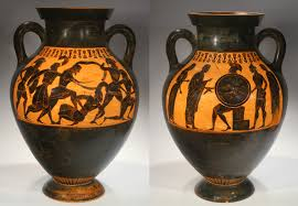 Ancient Greek Vase Painting Greek Pottery Styles Polytropon Art At Delphi Greece