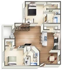 Bedroom Floor Plans 1 2 U0026 4 Bedroom Off Campus Student Housing In Hattiesburg Ms