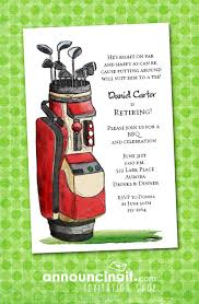 theme invitations golf themed party invitations announcingit