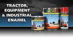 tractor equipment u0026 industrial enamel products van sickle paint