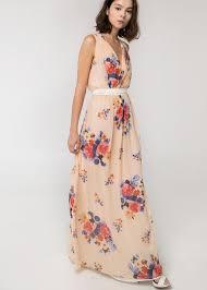 mango robes robe bustier fleurie mango robes de soirée élégantes