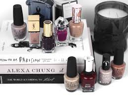 9 must have nail colours for winter from luxe with love