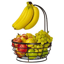fruit basket pfaltzgraff expressions grange wire fruit basket with removable