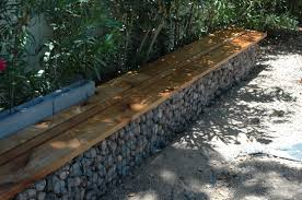 How To Build A Garden Bench Gabion Walls What They Are And How To Use Them In Your Landscape