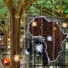 mall of africa christmas decor 2016 tmcc