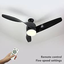 Flush Mount Ceiling Fans With Lights And Remote Natsen 52 Led Semi Flush Mount Ceiling Fan Lighting With Remote
