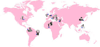 Colombia On A World Map by Truthful Consumerism Trendwatching