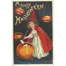 10 vintage halloween post cards that will make you smile ruby