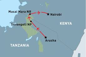 Kenya Map Africa by Kenya Tours Travel U0026 Trips Peregrine Adventures Us