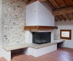 ventilazione forzata camino riscaldamento parete soluzioni di casa