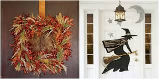 How To Make Halloween Wreaths by 25 Diy Halloween Wreaths Halloween Door Decoration Ideas