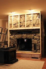 fireplace cover up fireplace build out insert highland pinterest