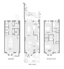 row house floor plans stylish inspiration ideas brownstone house plans delightful design