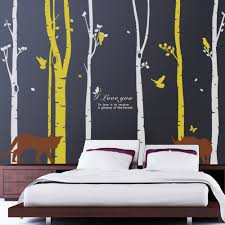 tv room decoration aliexpress com buy forest birds wall stickers home decor tree