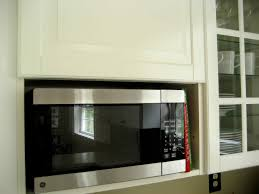 kitchen cabinet microwave