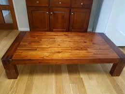 very low coffee table low coffee table solid wood heavy low coffee table tables gumtree